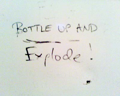 Bottle Up and Explode